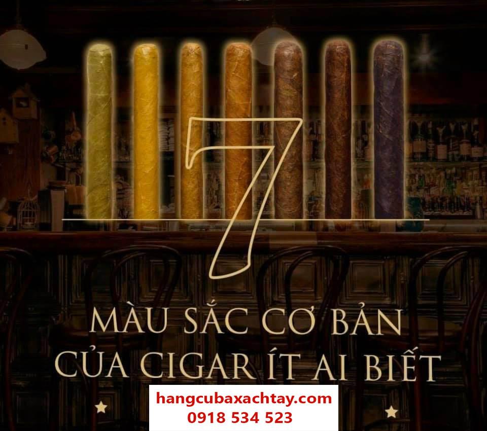màu sắc của cigar
